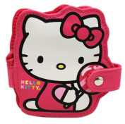 Hello Kitty Snap Button ID Holder