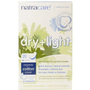 Natracare - Dry & Light Incontinence Pads | 20pieces