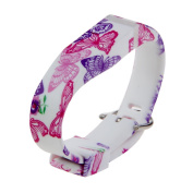 Wristband for ONLY Fitbit FLEX - Colourful Printing Replacement Wrist Band for Fitbit FLEX (No tracker,Replacement Bands Only) - EUBUY TPU Rubber Large Size Wristband Band for Fitbit Flex
