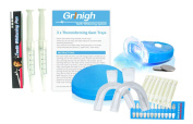 Grinigh Close Comfort Teeth Whitening Kit with Moisturising Swabs   More Than 30 Treatments of Home Maximum Strength Gel (6% Hydrogen Peroxide) 