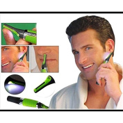 New Multifunction Personal Electric Nose Trimmer Build In LED Light Hair Ear Eyebrow Sideburns Shaver