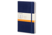 Moleskine Classic Notebook, Pocket, Ruled, Prussian Blue, Hard Cover