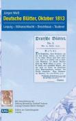 Deutsche Blatter, Oktober 1813 [GER]