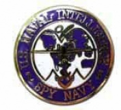 United States Naval Intelligence Spy Navy Lapel Pin