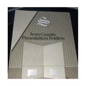Southworth Ivory Granite Presentation Folders