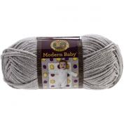 Lion Brand Yarn Modern Baby Yarn, Grey