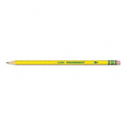 Dixon : Ticonderoga Woodcase Pencil, HB #2, Yellow Barrel, Dozen -:- Sold as 2 Packs of - 12 - / - Total of 24 Each