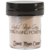 Lindy's Stamp Gang 2-Tone Embossing Powder, 15ml, Desert Moon Copper Teal