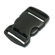 Water & Wood 3.8cm Replacement Belt Connecting Black Plastic Quick Release Buckle