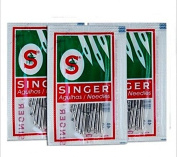 CHENGYIDA 3 packs Singer Sewing Machine Needles 2020/2045 # 14