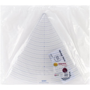 Quint Measuring Systems Circle Wedge-60 Degrees, 2.5cm Measuring with 46cm Long