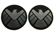 Avengers Movie Shield Costume Shoulder Patch Set of 2 - By Patch Squad