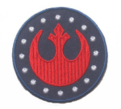 Star Wars Rebel Alliance Red Squadron Sew Ironed Patch Badge Embroidery 7.6cm S-12