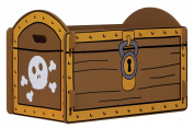 Kidsaw Pirate Treasure Toybox Chest