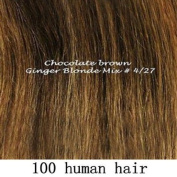 100g 100% Remy Huamn Hair Full Head Straight Clip in Remy Human Hair Extensions