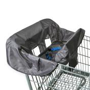 . Shopping Cart & High Chair Cover - Grey