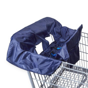 . Shopping Cart & High Chair Cover - Navy