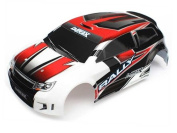 Traxxas Latrax Rally Painted/Decals Body, Red