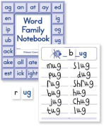 Primary Concepts AA3900 Word Family Notebook