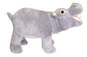 36cm Standing Farting Hippo Plush Stuffed Animal Toy