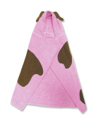 Trend Lab Pink Puppy Character Hooded Towel, Puppy