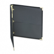 Classic Collection Zippered Ring Binder, 11 x 8-1/2, 2.5cm - 1.3cm Capacity, Black 2.5cm Capacity/Black