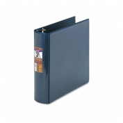 Samsill DXL/Contour Cover 7.6cm Ergonomic View Binder, Navy