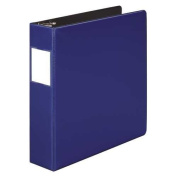 Wilson Jones 384 Line Heavy-Duty Locking D-Ring Binder, 5.1cm Capacity, 22cm x 28cm Sheet Size, Dark Blue