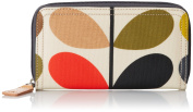 ETC by Orla Kiely Womens Classic Multi Stem Big Zip Wallet
