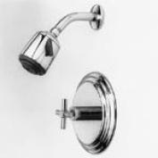 Newport Brass 3-994BP Amisa Single Handle Pressure Balanced Shower Trim Only wit, Satin Nickel