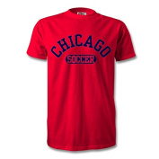 Chicago Soccer T-Shirt Red/Navy