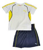 "Puma Kids Toddlers Soccer Crewneck ""48"" Jersey and Shorts Set"