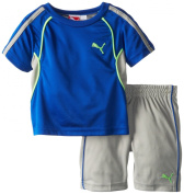 "Puma Infant Bays Soccer Crewneck ""48"" Jersey and Shorts Set"