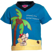 Baby Boys Fizzy Moon Bear Short Sleeve T-Shirt