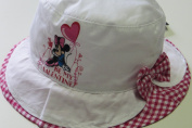 MaxiMo Girls' Hat, Disney Mickey-Mouse Motif, Size 52 cm