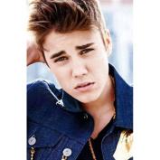 Justin Bieber Silk Print