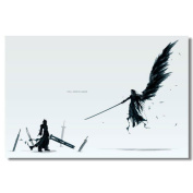 Final Fantasy VII Advent Children Silk Print