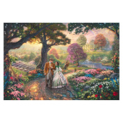 "Thomas Kinkade's ""Gone with the Wind"" Canvas Print"
