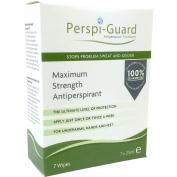 Perspi-Guard Maximum Strength Antiperspirant Wipes - Pack of 7