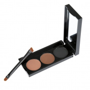 MUSIC FLOWER Makeup Water-soluble Eyeliner Powder 3 Colours with Brush