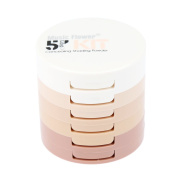 MUSIC FLOWER Makeup Concealing Shading Powder 5 Colours with Powder Puff
