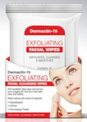 Demactin-TS Exfoliating Facial Cleansing Wipes 15-Count