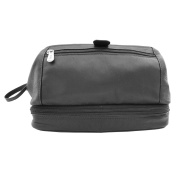 Toiletry Kit With Zip Bottom