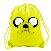 ADVENTURE TIME JAKE SCHOOL P.E PUMP SACK GYMSACK DRAWCORDED BAG