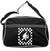 Sax Player Cheques Circle Messenger Bag Ska 2 Tone Specials Madness FREE UK Postage