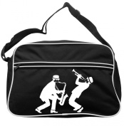 Sax And Trumpeter Messenger Bag Ska 2 Tone Specials Madness FREE UK Postage