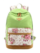 INAEONG Women Casual Preppy Style Printing Patterns Backpacks Travel Bags
