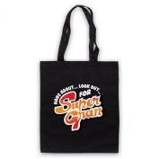 Inspired by Super Gran Logo Unofficial Tote Bag