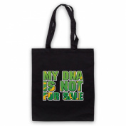 Inspired by Saw Doctors DNA Is Not For Sale Unofficial Tote Bag