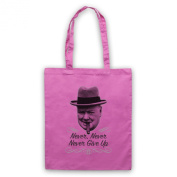 Inspired by Winston Churchill Never Give Up Unofficial Tote Bag